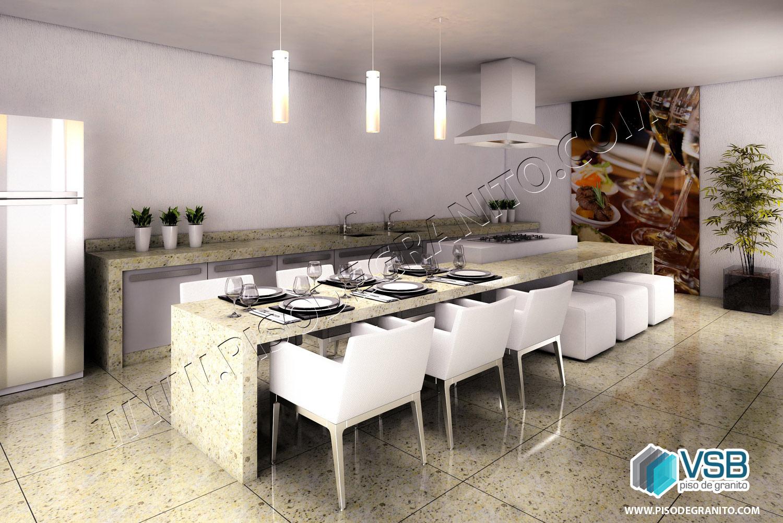 14 Ideias Para Sua Cozinha Vsb Piso De Granito