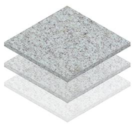 Piso de Granito Branco Siena