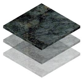 Piso de Granito Verde Ubatuba