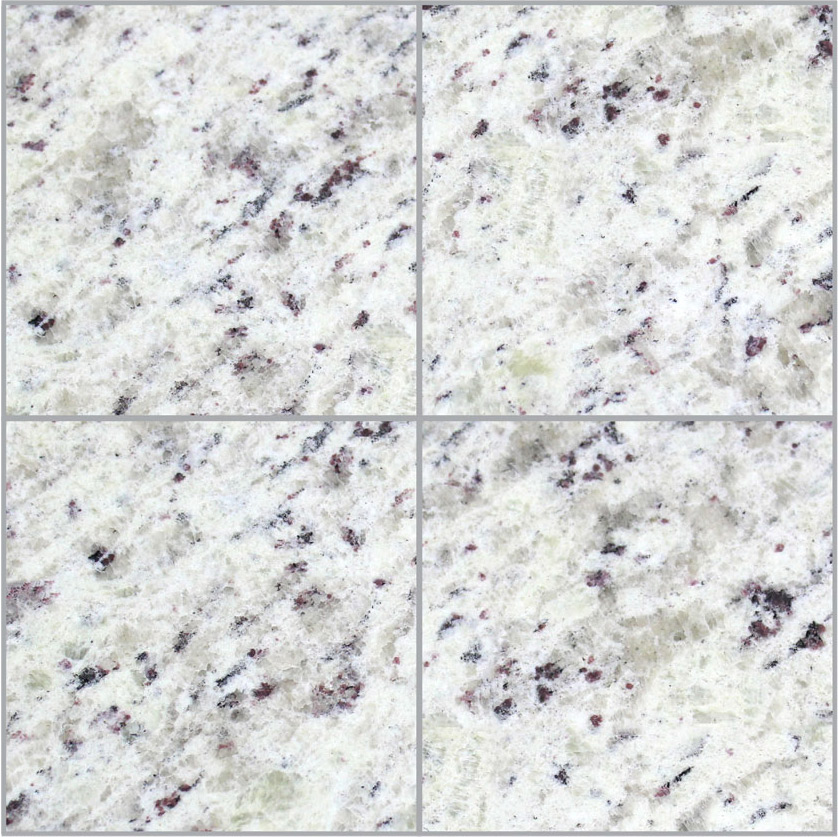 Piso de Granito Branco Marfim