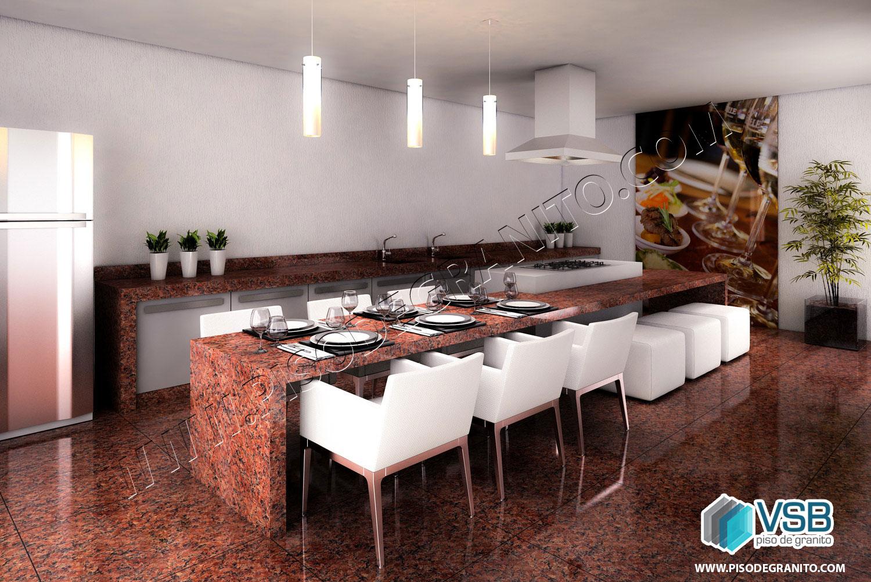 VSB Granitos produz os granitos nas dimensões 40 x 40 55 x 55 70  #2B718A 1500x1001 Banheiro Com Granito Vermelho