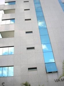 Granito para revestimento de fachada