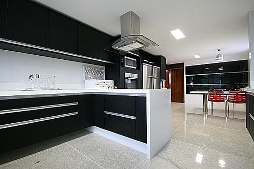 6 ideias de piso de granito na cozinha vsb piso de granito for Modelos de pisos de granito