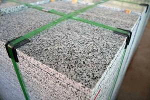 piso de granito pronto