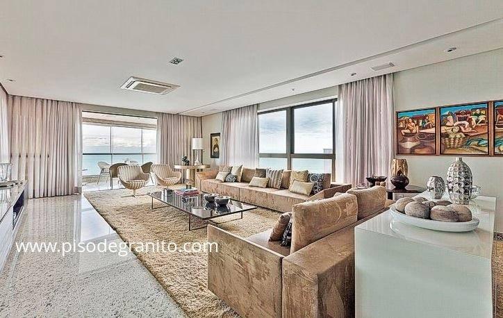 Pisos Para Salas De Baño:piso granito sala jpg 724 458 más granito piso casa de campo sala 724