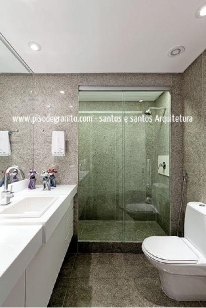 9 ideias de piso de granito para banheiros vsb piso de for Pisos de granito natural