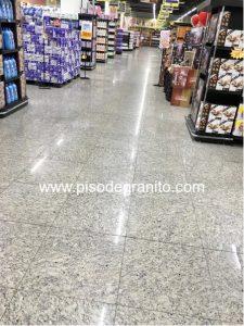Piso de Granito em supermercados é sinonimo de Beleza e Praticidade