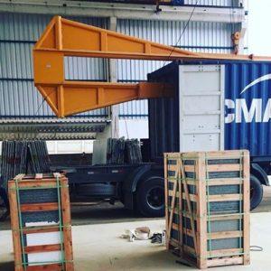 exportação de piso de granito